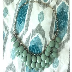 Mint Layered Statement Necklace